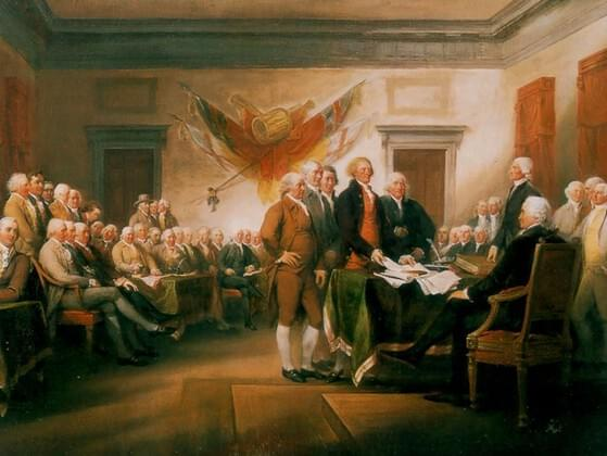 Do you know the year in which the Declaration was signed?
