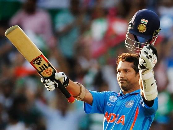 Which team player has scored maximum centuries in World Cup history?