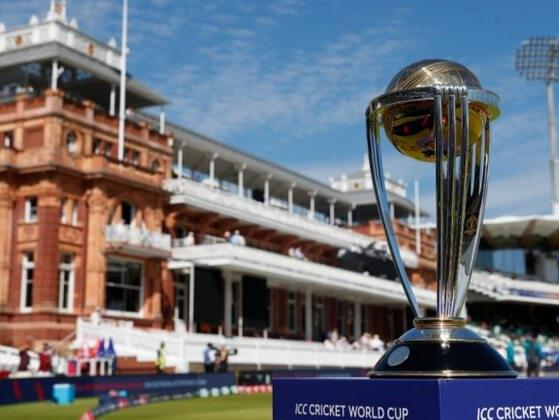 Which team holds the record for the highest innings total in World Cups?