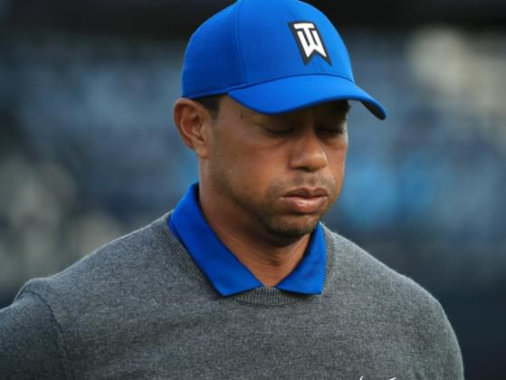 How many times has Tiger finished second on the PGA TOUR?