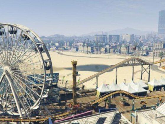 Who shot in the Ferris Wheel?