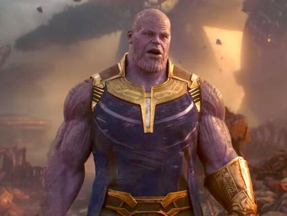 Why Thanos has purple skin?