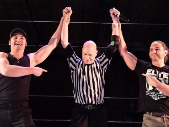 Who Was The Referee In The Main Event Match?
