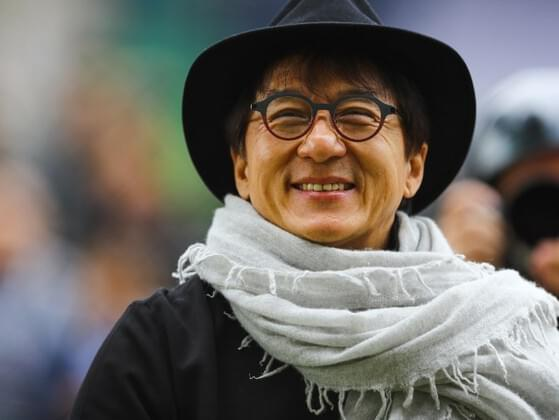 What Jackie Chan is famous as?