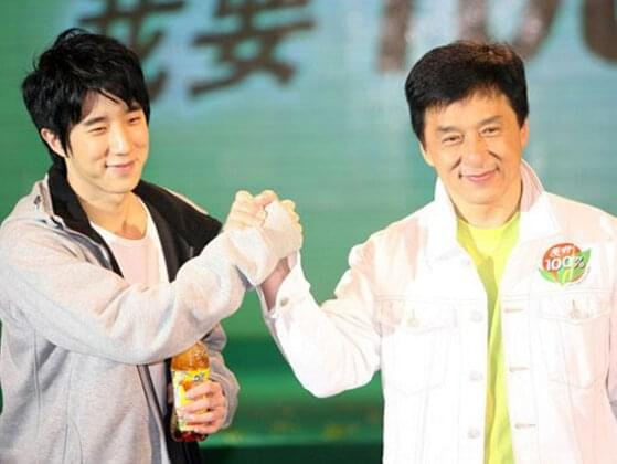 What is Jackie Chan's son name?