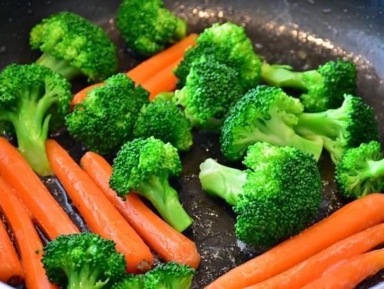 Choose a veggie: