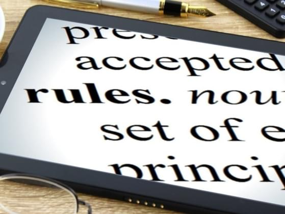 What are your thoughts on rules?
