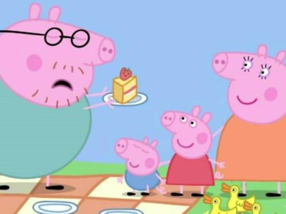 What is Peppa's favorite cake?