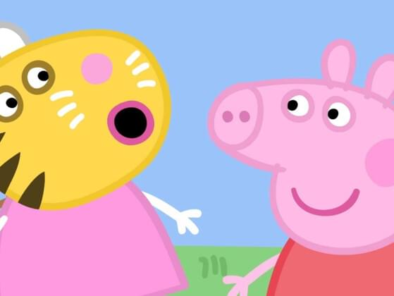What is the name of Peppa's sheep friend?