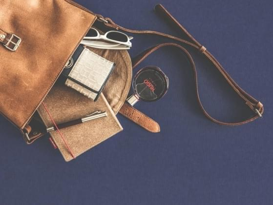 Every purse is a little messy. What would we find in yours?