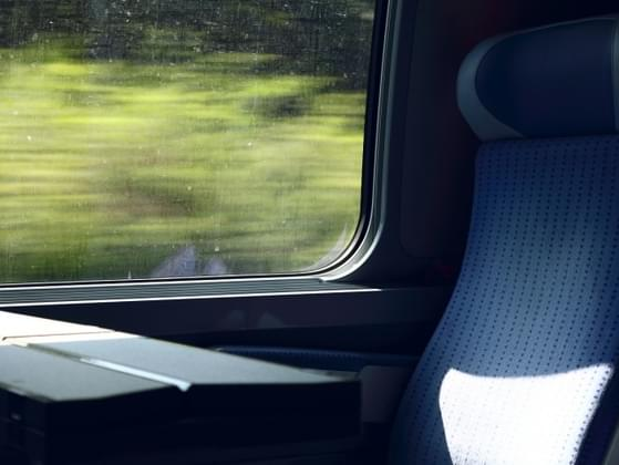 What would you do to pass the time while traveling by carriage or train?