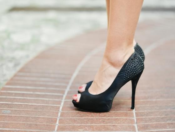 Pick a shoe to wear: