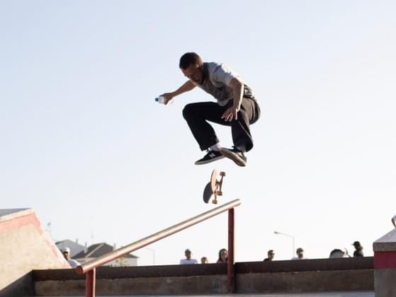 When you look at this skateboarder, you see...
