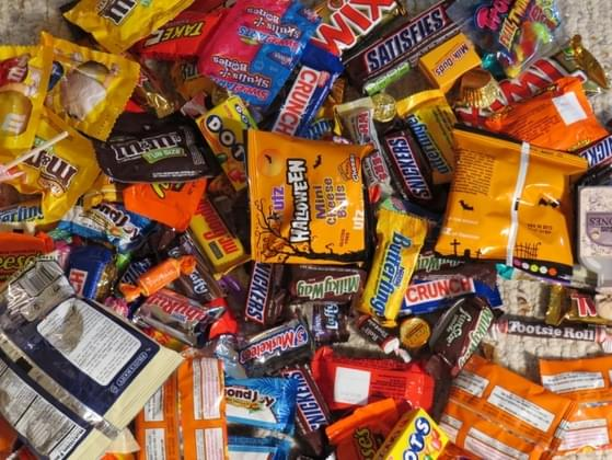 What do you give the cute little Trick-or-Treaters?