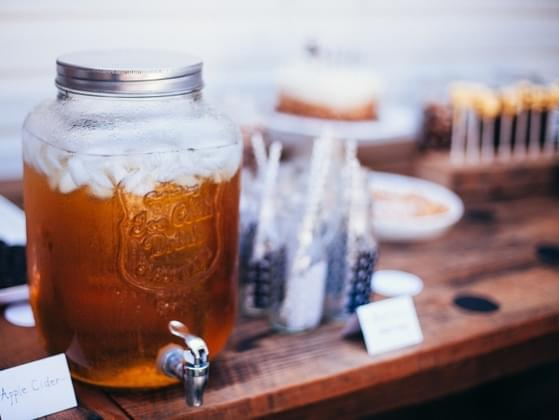 What's the best way to enjoy some apple cider?