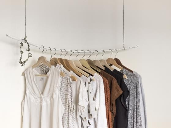 After you've done your laundry, what do you do with your clothes?
