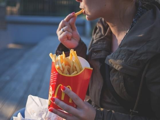You've finished eating some fast food in your car. Are you going to throw the trash in the backseat or quickly find a garbage can?