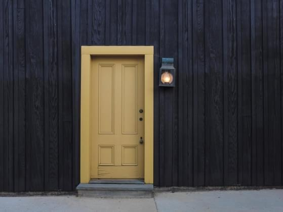 Think of your soul as a door. Is it usually closed or wide open?