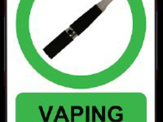 Is Vaping or smoking an Ecig really allowed every single  place where regular Smoking is not?