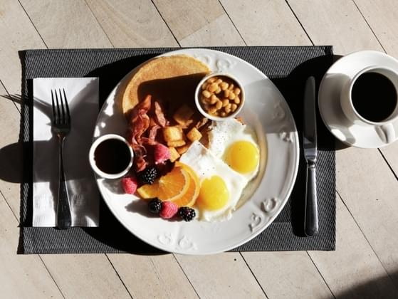 What does a typical breakfast look like for you?