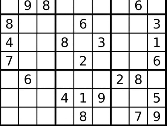 Have you ever completed a Sudoku?
