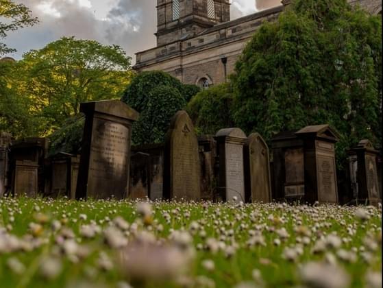 Do you feel a spiritual connection when you enter a graveyard?