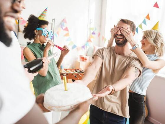 What part of a surprise birthday party is your favorite?