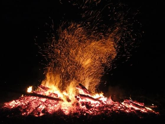 Have you ever built a fire without the use of matches or a lighter?