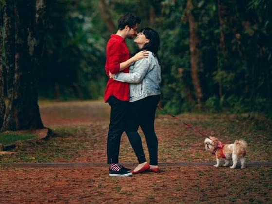 Are you comfortable with public displays of affection?
