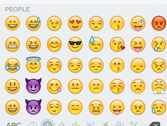 Which emoji best matches your current mood?