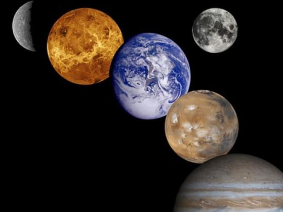 Which planet in our solar system is the only one to rotate in a different direction from the others?
