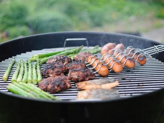 You planned a barbecue but the forecast is calling for rain. What do you do?