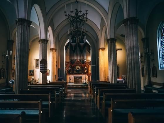 How often do you attend church throughout the year?
