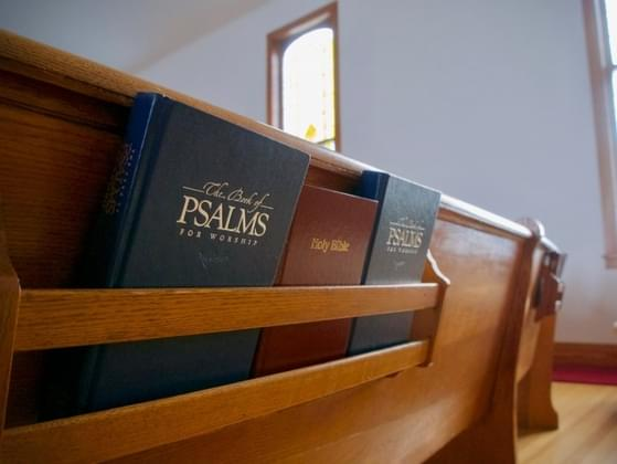 What's your favorite part of a church service?