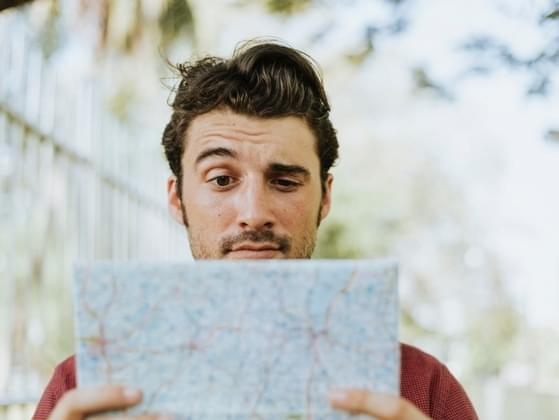 You see a man approaches you who says he is lost. Will you give him any directions?