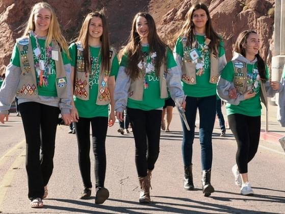 Would you rather wear a Girl Scout vest or the sash?