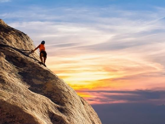 Life is full of peaks and valleys. How do you handle challenges?