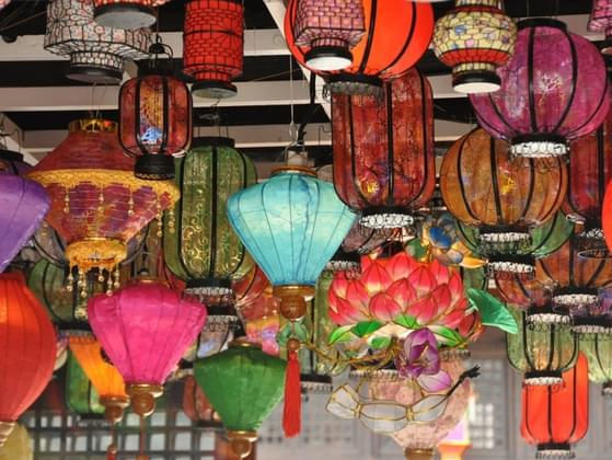 Which Chinese lantern was your eye first drawn to?