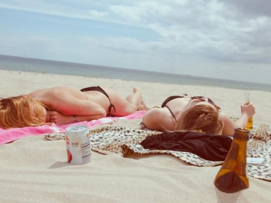 Would you rather wear SPF 50 or tanning oil?
