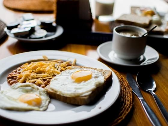 It's morning and you're too tired to cook. What will you be ordering for breakfast?