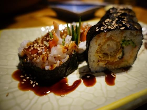 You're feeling adventurous and want Japanese for dinner. What do you order?