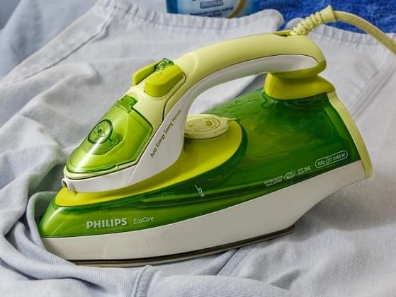 How often do you iron your clothes?