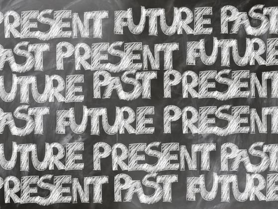 Do you focus more on the past, the present or the future?