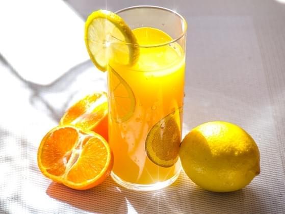 Pick a juice to serve: