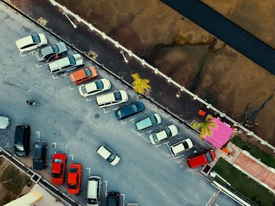 Someone stole your parking spot. How do you react?