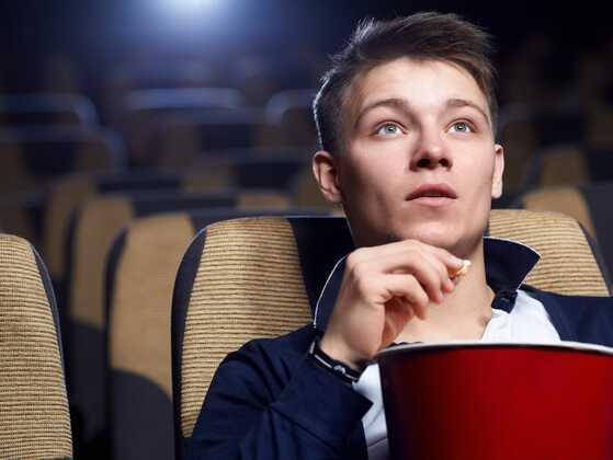 Do you prefer to watch a scary movie or intimate movie at night?