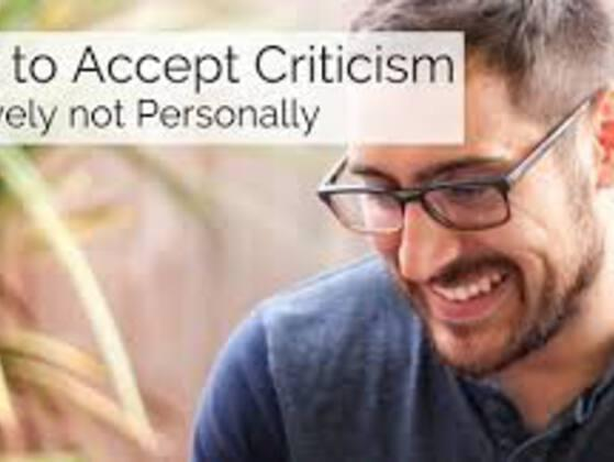 DO YOU TAKE CRITICISM PERSONALLY?