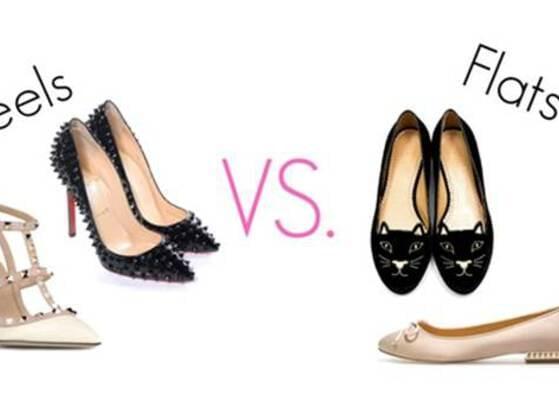 Heels or flats?