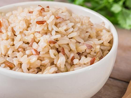 Brown rice?
