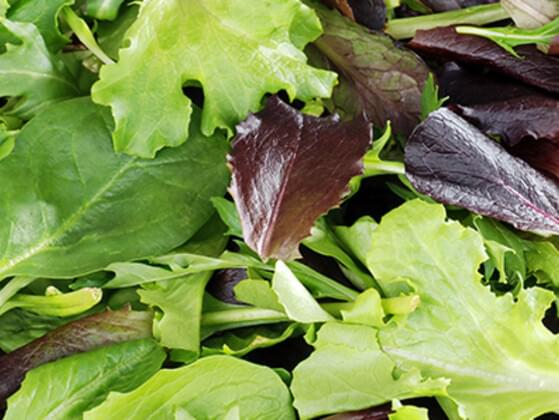 What about some mixed greens? Are you taking some?